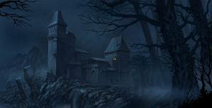 Castle Dracula by Harnois75