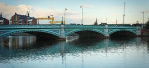 Albert Bridge, Belfast by Gerard1972