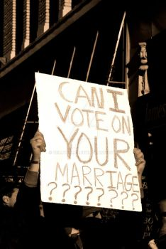 Can I Vote on YOUR Marriage? by bellykelly