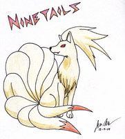 Ninetails by shadow-wolf051