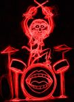 neon animal by AlanSchell