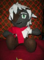 custom plush order DnD character Nathere Tal by HeatherMason76