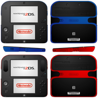 Nintendo 2DS Redesign by Yamitora1