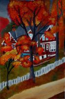 Fall House by Wisher367