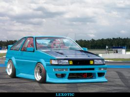 Ae86 Drift Spec by Lexotic-Projects