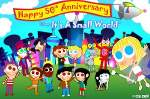 Jimenitoons Celebrate ''It's A Small World'' by JIMENOPOLIX