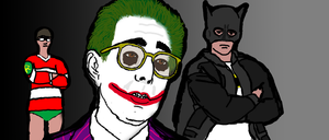 Ferris Batman's Day Knight -Ben Stein as the Joker by jdlovecraft