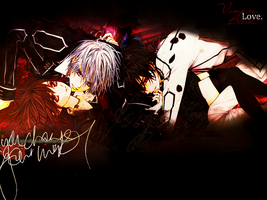 Blood Love Vampire - VK wall by xCaro-chan