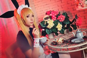 Rachel Alucard maid ver. Tea time. by TaisiaFlyagina