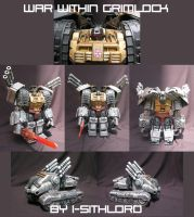 War Within Grimlock Custom v1 by I-SithLord