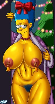 Marge- Homer Gift by cssp
