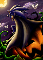 Happy Halloween! Old art by Shadow77-Demon