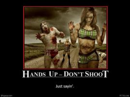 Hands Up - Don't Shoot #4 by PopeyeTheoB