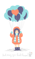 Loved Ones Are Balloons by Asaryn