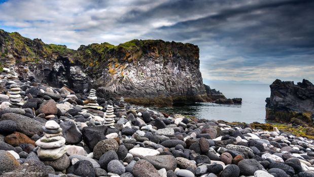 The mini stacks of Hellnar by LordLJCornellPhotos