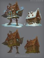 Baba Yaga Hadagan by Livekeep