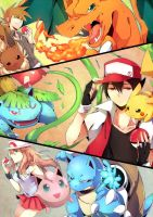 Pokemon by NoneNess