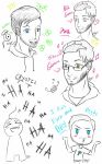 Youtubers sketches by halomindy