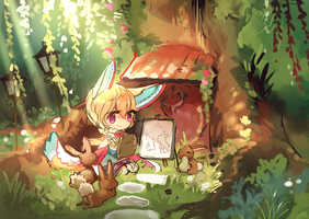 BUNNY MEADOW [livestream request] by rainue
