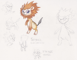Little Prickly Lion by Combo89