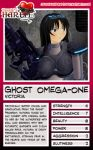 Trading Card - Ghost Omega-1 by jessiesheram