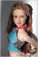 Natural - OOAK Doll Repaint 2 by kamarza