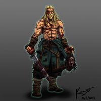Viking Berserker by kenji893