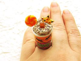 Halloween Ring Chocolate by souzoucreations