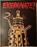 EXTERMINATE! // Dalek from Doctor Who by kriskilgannon