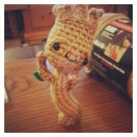 Guardians of the Galaxy Dancing Groot Amigurumi 3 by Spudsstitches