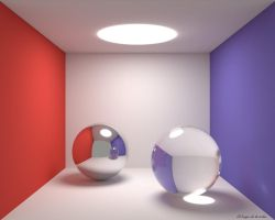 Cornell Box - Spheres in Cycles by elbrujodelatribu