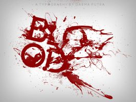 Blood Typo by dcomeback