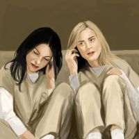 Piper and Alex. by Faberry-shipper