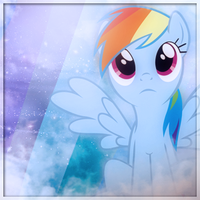 Rainbow Dash Avatar -Version 2 by SandwichDelta