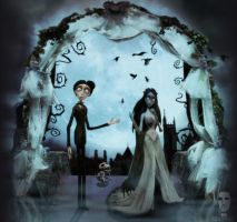 my corpse bride tribute by ichigopaul23