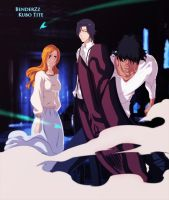 Chad Tsku and Orihime 455 by benderZz