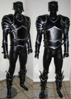 Basic Armor - Black and Silver by Azmal