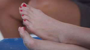 The Sandy Toes of Marisol by Feetatjoes