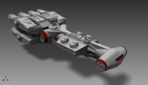 CR90 Corellian Corvette by ExoticcTofu