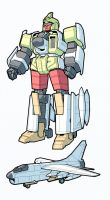 Powerflash IDW Style by RobotMaster