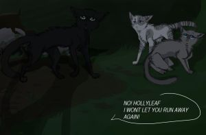 i spy me a Hollyleaf by Jaewolfeh22z