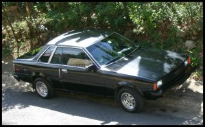 1982 Toyota Corolla TE71 coupe by Mister-Lou