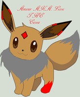 Amour the eevee by WolfGirl0001