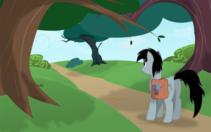 Leaving the Everfree Forest by Glaive-Silver