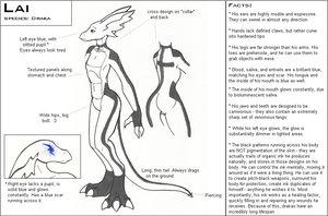 Lai - Reference sheet by ContrivedOddity