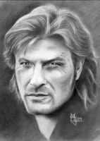 Richard Sharpe - Sean Bean by enednoviel