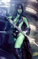 Gamora - Guardians of the Galaxy - Marve Comicss by WhiteLemon