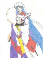 Lord Sesshomaru by Aethernie