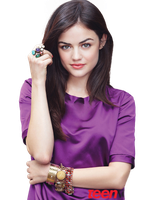 Lucy Hale Teen Vogue Magazine Cut-Out by r-adiant