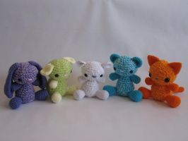 Fluffy Friends Crochet by djonesgirlz
